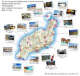 Carte de Lanzarote