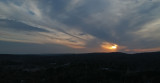Sunset from 400 feet high