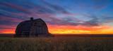 Fiery Sunrise near Acme, Alberta