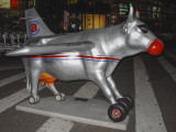 The airport cow