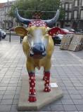 The polka-dot cow