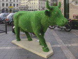 The grass cow