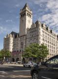 Trump International Hotel, the new tourist attraction