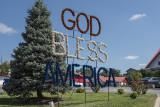 'God bless America'