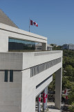 Views from the Newseum terrace, Canadian Embassy