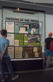 A few Newseum exhibits