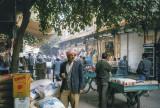 Kurdish vendor at the Urfa bazaar