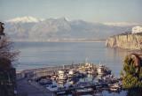 Antalya harbor