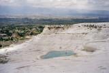 Limestone cliffs of Pamukkale