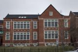 Original Lovejoy School building after conversion