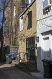 Carriage house conversion on the alley