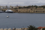 Valletta harbor view