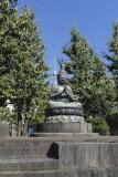 Tokyo Skytree and the Buddha