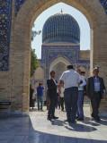 Arched view of the mausoleum, Gur-e-Amir