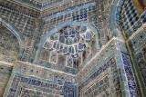 Shah-i-Zinda, mausoleum interior, Samarkand