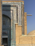 Tiled angles, Shah-i-Zinda, Samarkand