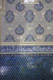 Decorative wall, Shah-i-Zinda, Samarkand