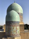 Domes, Shah-i-Zinda, Samarkand