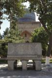 Stone Quran stand, Bibi-Khanym Mosque, Samarkand