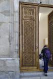 Door detail, Bibi-Khanym Mosque, Samarkand