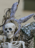 The Halloween bunny skeleton?