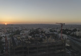Sunrise over Amman, Jordan
