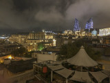 Night view of Baku
