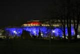 US Botanic Garden lit up for Christmas