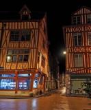 Rouen downtown.