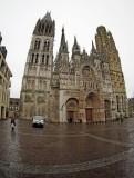 Notre Dame de Rouen, the cathedral.