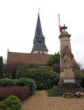 Duclair: between Rouen and Honfleur; hommage to WW I and II soldiers from this town.