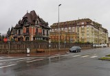 Deauville houses.