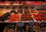Fish food in the Trouville market.