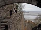 Mont Saint Michel, its paths.