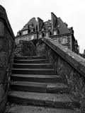 Saint-Malo; walking on the walls.
