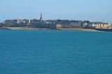 Saint-Malo viewed from Dinard.