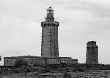 The Cap Frehel lighthouse.
