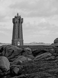 The Ploumanach lighthouse.