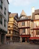 Vannes, historic city.