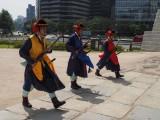 Seoul: at Namdaemun gate, Guard-changing.