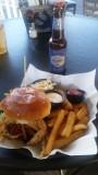 Softshell Crab Sandwich at Jensen Beach