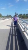 Walking a Pier on Key West