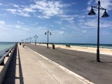walking a pier