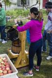 Ye old Peterschmidt apple press