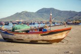Fishing beach at Doc Let, central Vietnam