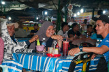 Good times at the Pasar Malam, Kota Kinabalu