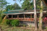 A riverside 'adventure lodge' beside the Kinabatangan River, Sabah
