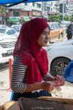 Muslim vendor, K.K. night market
