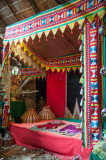 Bedchamber for a newly-married Bajau couple