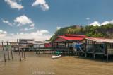 Floating village of Kampong Buli Sim Sim, Sandakan